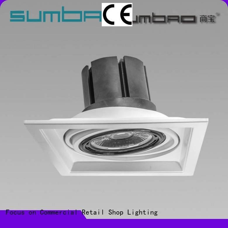 Hot 4 inch recessed lighting multi LED Recessed Spotlight dw067 SUMBAO