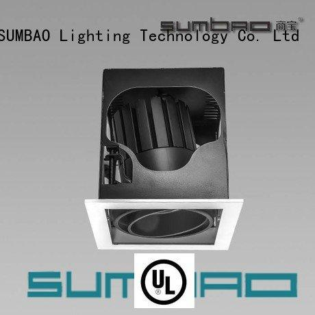 sloped ceiling recessed lighting 5 inch 6w ceiling cob SUMBAO