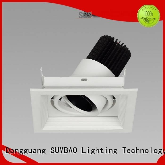 SUMBAO Brand Imported COB chip 4 inch recessed lighting Supermarket dw034