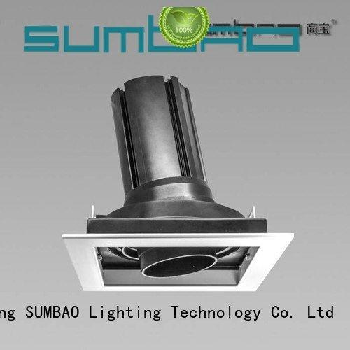 dw067 3500K 10w 4 inch recessed lighting SUMBAO