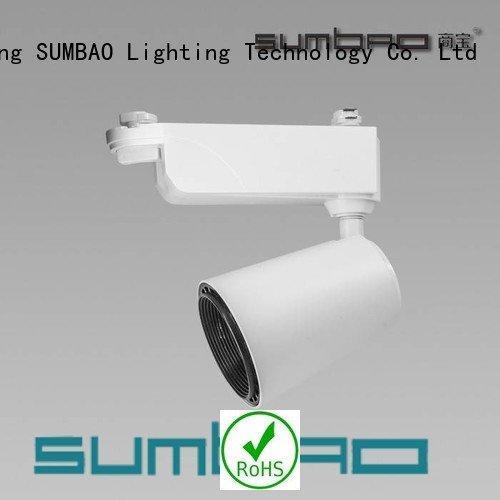 track lighting living room 30w Dumb black LED  Spotlight