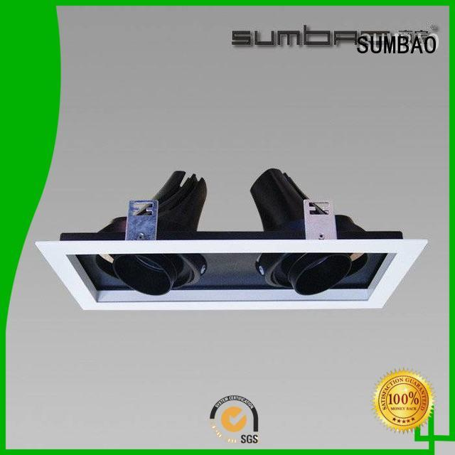 5000K Exhibition room SUMBAO Brand LED Recessed Spotlight