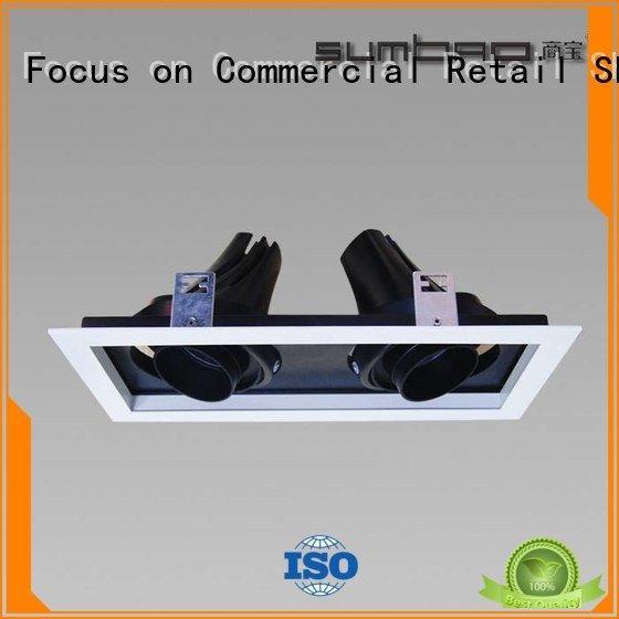 SUMBAO high singlehead Supermarket 4 inch recessed lighting round