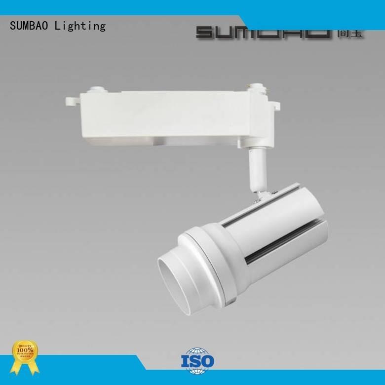 light Specification grade AL efficiency SUMBAO LED Track Spotlight