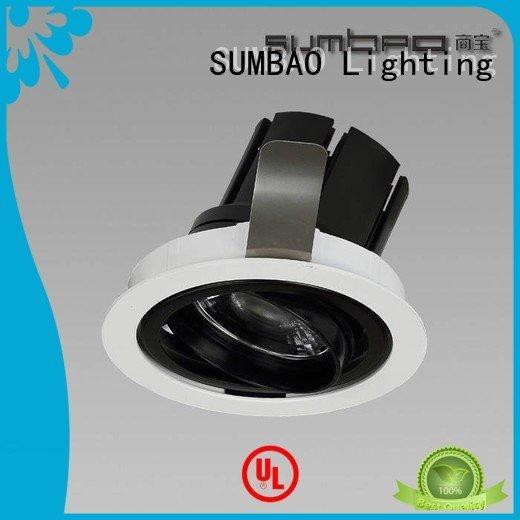 OEM LED Recessed Spotlight dw0191 12° 4 inch recessed lighting