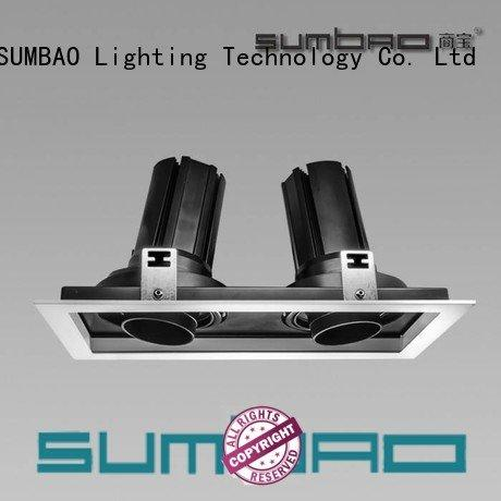 4 inch recessed lighting head LED Recessed Spotlight Dumb white SUMBAO