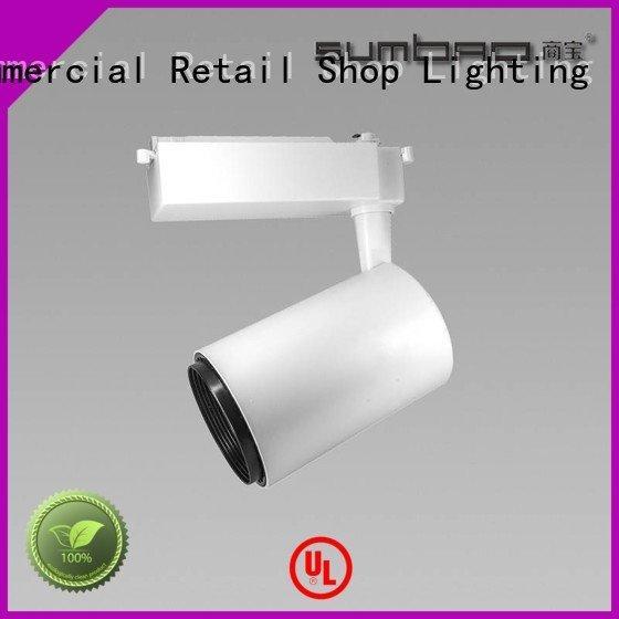 track light bulbs Intelligent constant current 18w OEM LED Track Spotlight SUMBAO