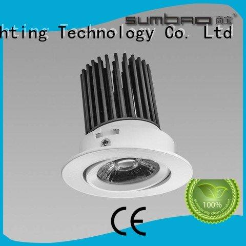 SUMBAO Brand 2700K high 4 inch recessed lighting dw084 dw0282