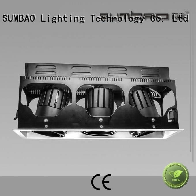 Quality 4 inch recessed lighting SUMBAO Brand 465x155mm LED Recessed Spotlight