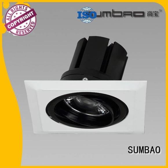 downlighting Dumb white LED Recessed Spotlight singlehead SUMBAO company